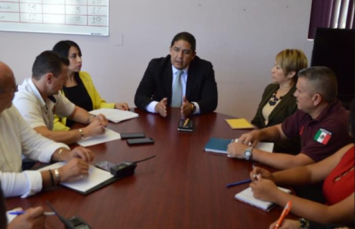Sergio Almaraz  toma mando de transito de Juárez