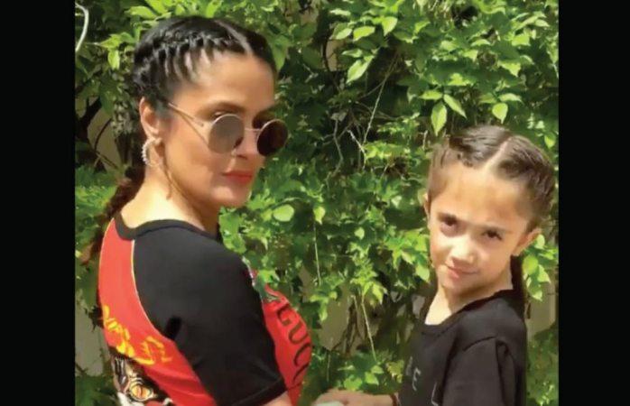 Salma Hayek hace extraño regalo a su hija