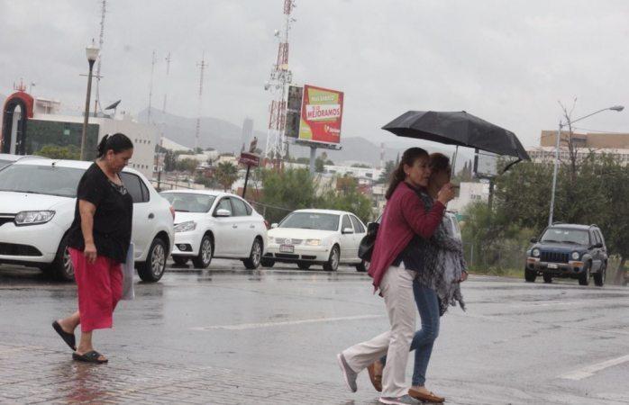 Seguirán lluvias tras frente frío número 2