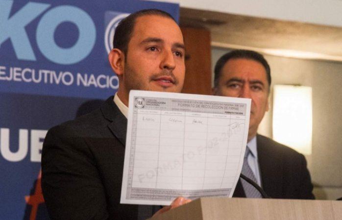 PAN debe salir fuerte y unido de su proceso interno, estima Marko Cortés