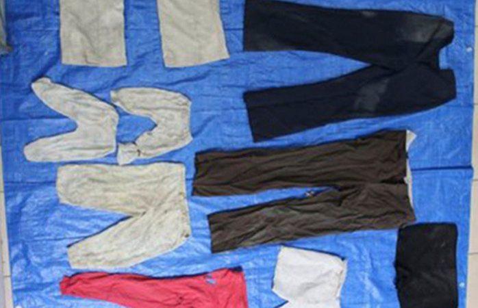 Localizan prendas de niños en fosas de Veracruz