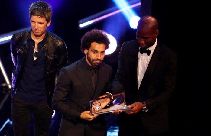 Salah supera a Cristiano y obtiene premio Puskas