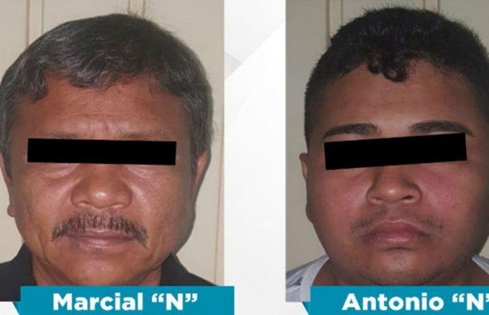Arrestan a padre e hijo por secuestrar a estudiante de la Unam en Guerrero