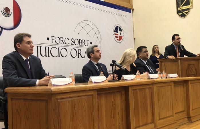 Inaugura fiscal foro de juicio oral en la Uach
