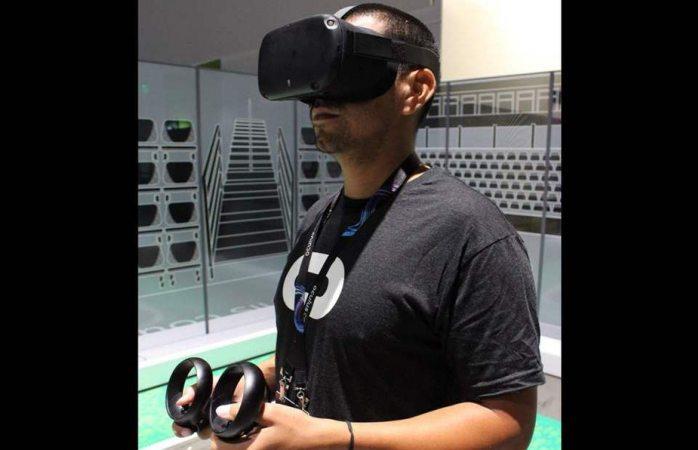 Lanza Facebook el visor de realidad virtual Oculus Quest