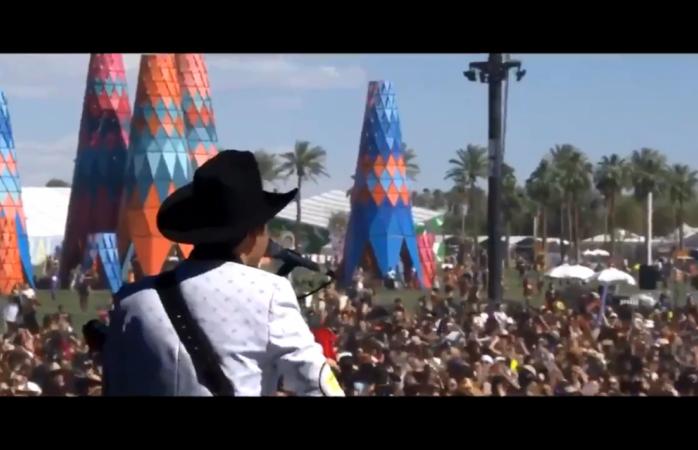Coachella baila al ritmo de La Chona con Los Tucanes de Tijuana