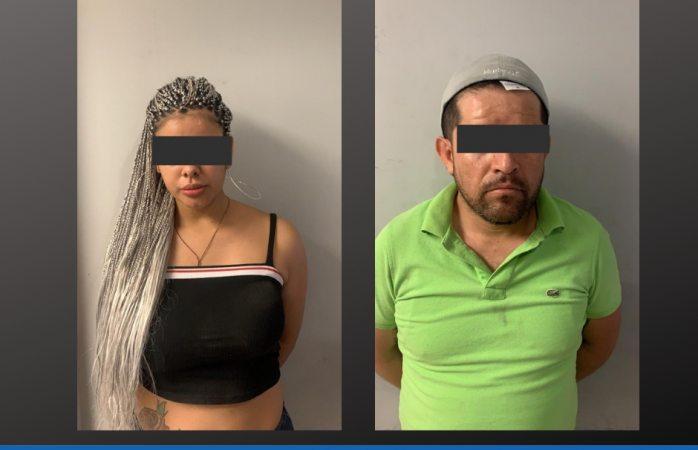 Vinculan a pareja detenida con droga