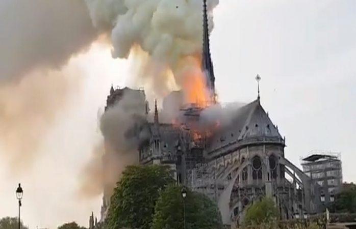 Galería: se incendia la catedral de Notre Dame