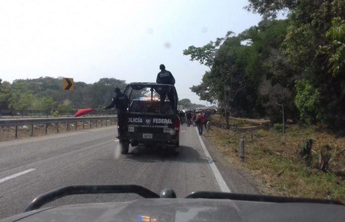 Hacen redada vs centroamericanos, detienen a más de mil 500 en Chiapas