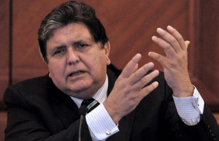 No hubo ni habrá cuentas ni sobornos, ni riqueza: Alan García