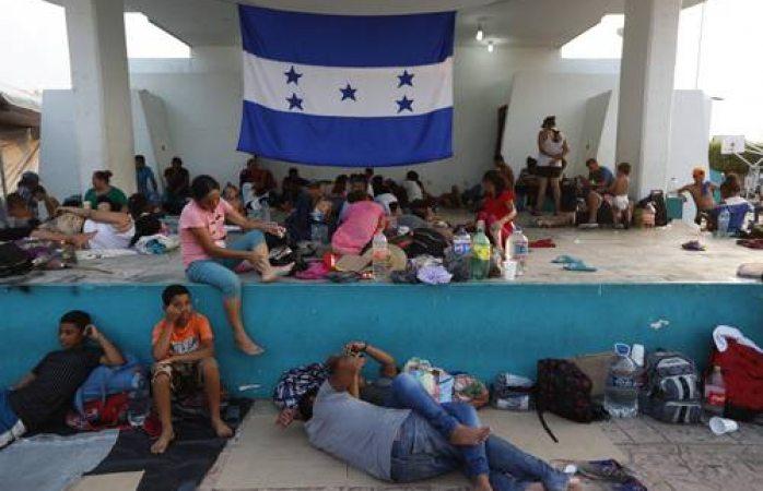 5 mil 366 migrantes quieren cruzar a México