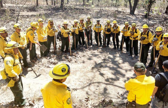 Arranca conafor operativo contra incendios forestales en periodo vacacional