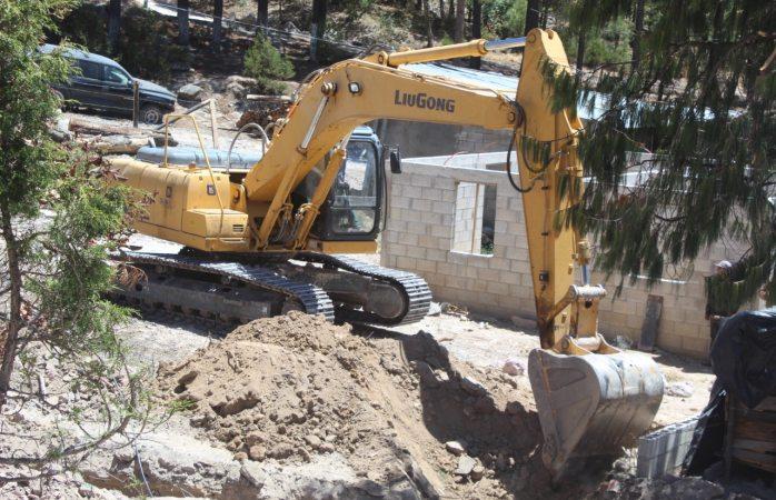 Lleva 80% de avance obra de drenaje en Guadalupe y Calvo