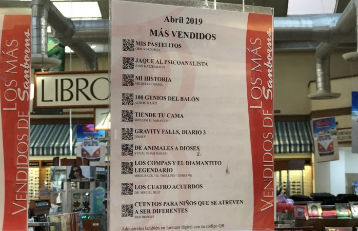 Mira los libros más leídos por los chihuahuenses este mes