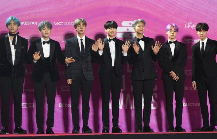 BTS alcanza récord de los Beatles en la lista Billboard