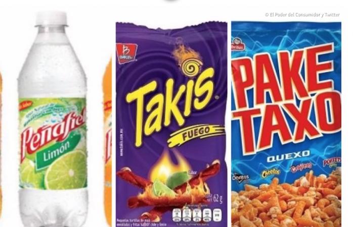 Takis y Paketaxo también están en la lista negra por daños a la salud