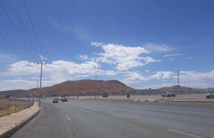 Clima bipolar: graniza, llueve y ahora sale el sol…