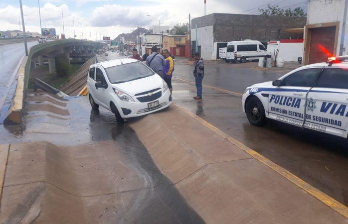 Lluvia y granizo desquician la ciudad