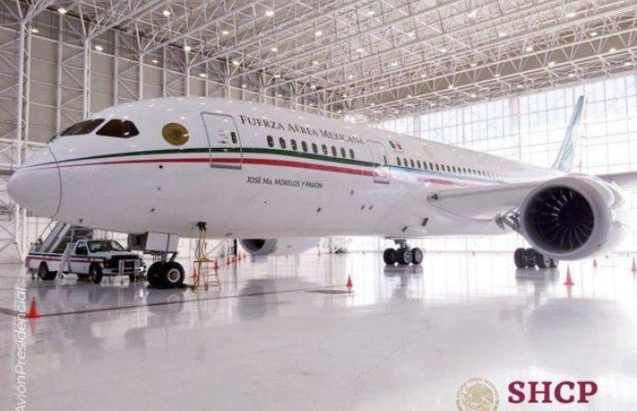 14 ofertas lleva el avión presidencial