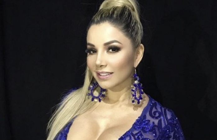 Aleida Núñez sufre quemaduras de segundo grado