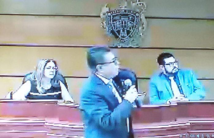 Desahoga prueba testimonial Alejandro Gutiérrez