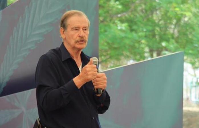 Vicente Fox invita a los jóvenes entrarle al negocio de la marihuana