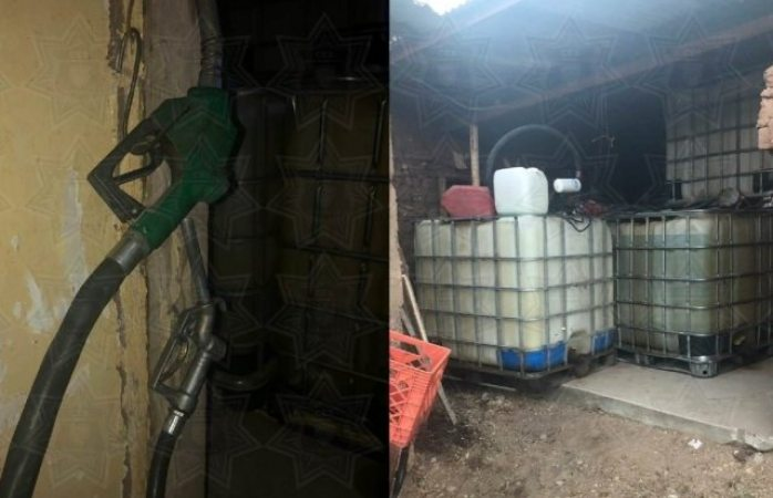 Aseguran pipas y contenedores con huachicol en Cuauhtémoc