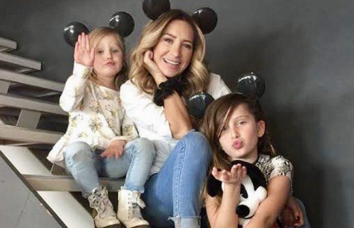 Geraldine Bazán tuvo que dejar su vida amorosa de lado por sus hijas