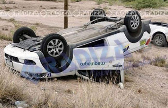 En tres días van 2 accidentes de unidades de la empresa Maquiagro