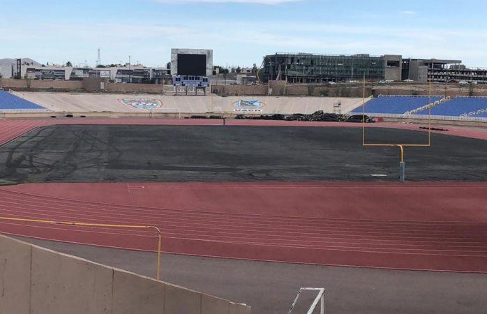 Surge polémica por cambio de pasto en el estadio olímpico uach
