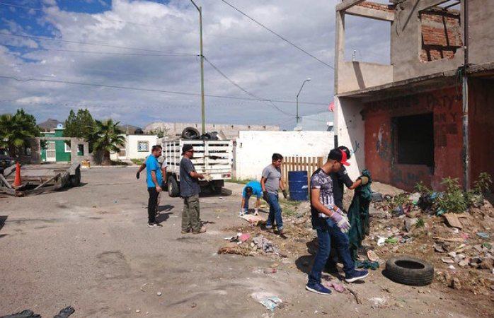 Retiran 25 toneladas de basura de casa abandonada en riberas de sacramento