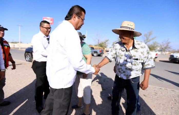 Supervisa Cabada Operativo de Servicios Públicos en Parajes de San José