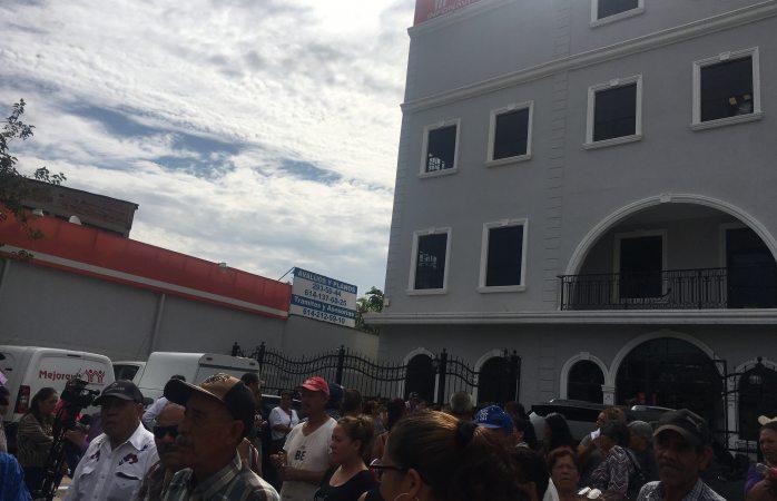 Protestan por falta de vivienda en infonavit