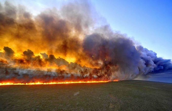 Selva de la amazona en Brasil arde a una velocidad récord