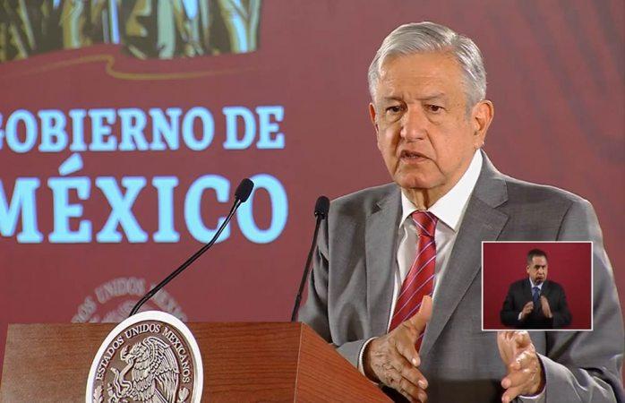 No hay diálogo con bandas criminales: López Obrador