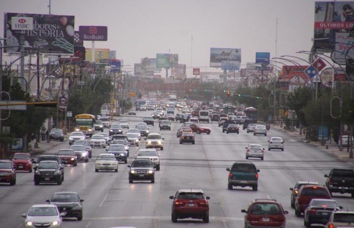 Pide tránsito manejar con precaución por probabilidades de lluvia