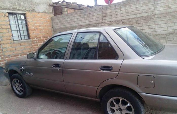 Hallan en punta oriente auto robado en Cuauhtémoc