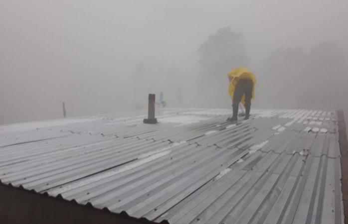 Alertan por fuertes lluvias y granizo en el estado