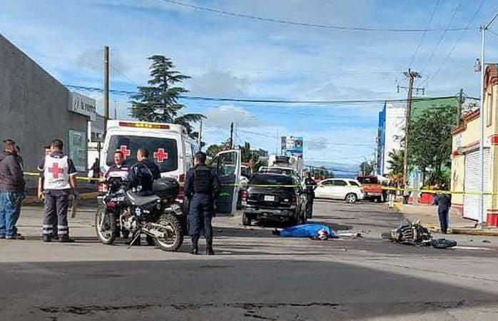 Muere motociclista en aparatoso choque en cuauhtémoc