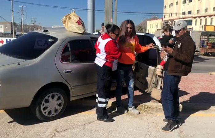 Fuerte choque deja una mujer herida en el bulevar juan pablo II