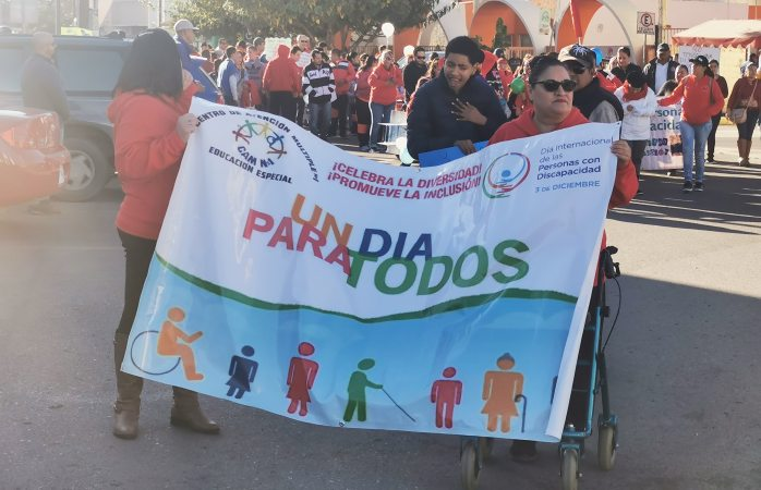 Conmemoran día internacional de las personas con discapacidad en Delicias