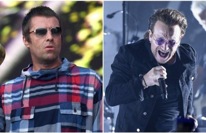 U2 es la peor banda de la historia: Liam Gallagher