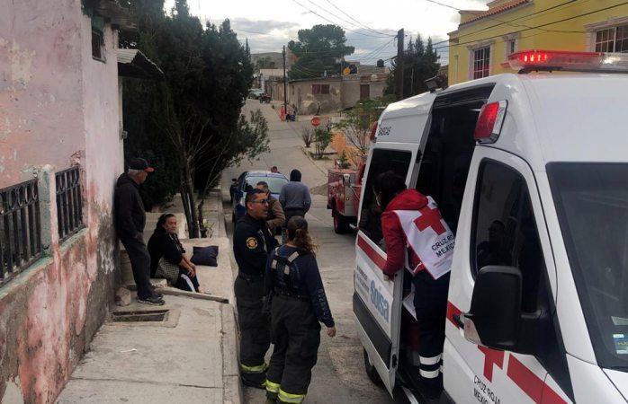 Mujer se intoxica por fuga de gas en calentón