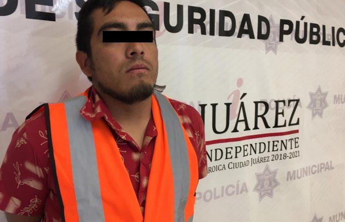Detienen a presunto asaltante de gasolineras