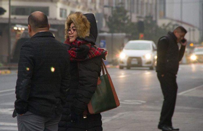 Frío se apodera del norte y centro de territorio mexicano