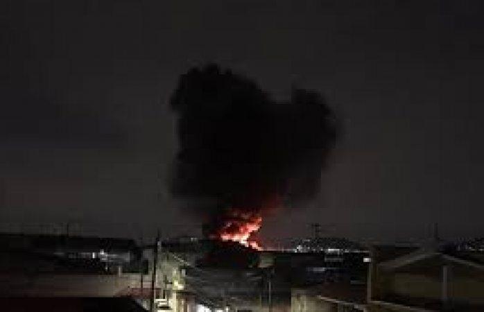 Se incendia fábrica en ecatepec