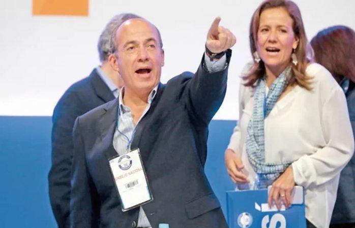 Abren las puertas del pan a Calderón y Margarita Zavala
