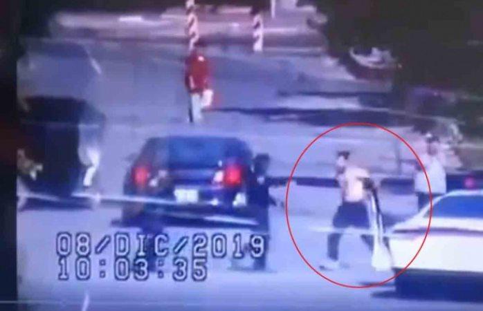 Así abatió policía a presunto ladrón de casas en tláhuac