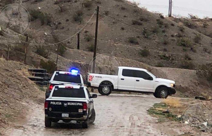Tiran encobijado en baldío de  Juárez