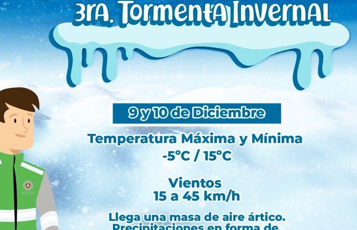 Prevén -5ºc en Cuauhtémoc